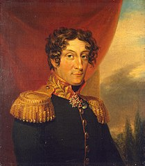 Portrait of Alexander Ya. Patton (1762-1815)