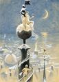 Paul Fischer - Allegori over tiden, fra spiret af Vor Frelsers Kirke.png