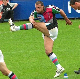 Paul Sykes (rugby league) - Sykes playing for Harlequins Rugby League