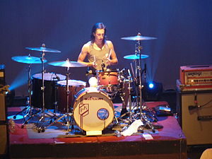 Silverstein (band) - Drummer Paul Koehler in 2009 in Glace Bay, Nova Scotia