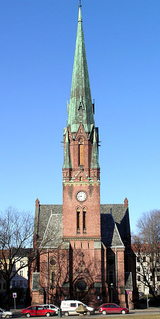 Henrik Bull - Paulus Church, Oslo.