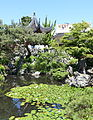 Pavilion with pond - Dr. Sun Yat-Sen Classical Chinese Garden - Vancouver, Canada - DSC09808.JPG