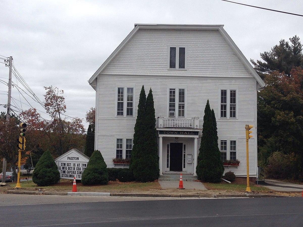 Paxton, Massachusetts - Wikipedia