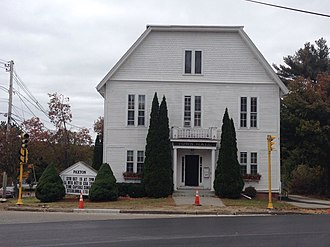 Paxton, Massachusetts - Paxton Town Hall
