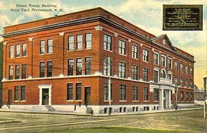 Portsmouth Naval Shipyard - Treaty Building in 1912