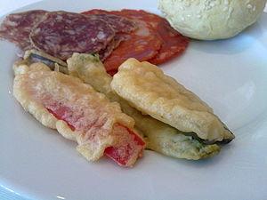 Deep frying - Peixinhos da horta, the Portuguese ancestor of Japanese tempura