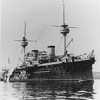 Spanish battleship Pelayo - Image: Pelayo 1889
