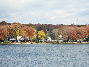 Penn Lake Park, Pennsylvania - Image: Penn Lake Park Luz Co PA 3