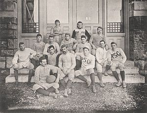 1889 Penn State Nittany Lions football team - Image: Penn State Football 1889