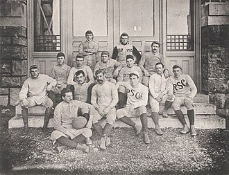 1889 Penn State Nittany Lions football team - Image: Penn State Football 1889