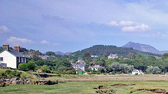 Penrhyndeudraeth - Image: Penrhyndeudraeth 2007