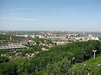 Penza - Penza as seen from the highest point of the city