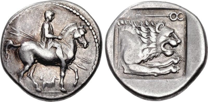 Perdikkas II, Tetrobol, 451-413 BC, HGC 3-1-791