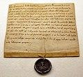 Pergamena di boemondo che delega il suo amministratore a gestire i suoi beni durante la sua assenza per la crociata, 1086, 01.jpg
