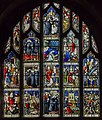 Pershore Abbey, Stained glass window (33230971591).jpg