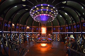 Doctor Who (series 9) - The modified TARDIS set, that debuted in Series 9.