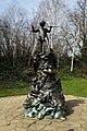 Peter Pan statue in Kensington Gardens in the City of Westminster in London, spring 2013 (13).JPG