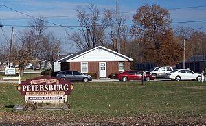 Petersburg, Indiana - Image: Petersburg IN