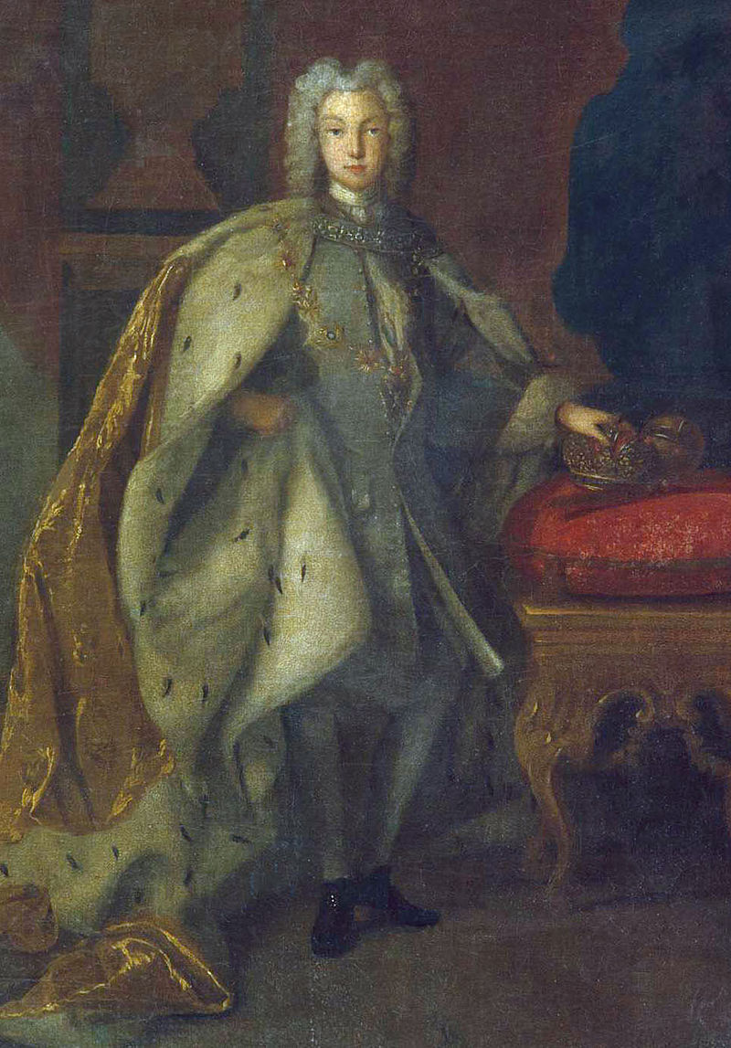 Петр II по Ж. Ludden (1728, Русский музей) detail.jpg