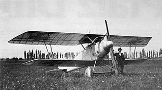 Pfalz D.III - Pfalz D.III prototype in April 1917