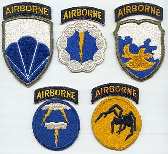 United States Army deception formations of World War II - Image: Phantom World War II Divisions Patches (United States)