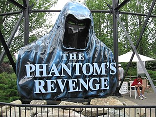Phantoms Revenge amusement ride