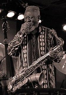Pharoah Sanders American jazz saxophonist