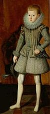 Philip IV of Spain as Prince of Asturias, Bartolome Gonzalez y Serrano 003.jpg