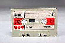 Philips C-60 - Tape - Worn - Face (13844721854).jpg