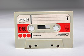 Philips C-60 - Tape - Worn - Face (13844721854).jpg