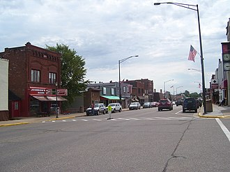 Price County, Wisconsin - Phillips, Wisconsin is located in Price County