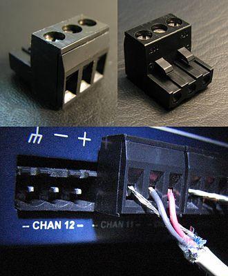 Euroblock - Phoenix Connector