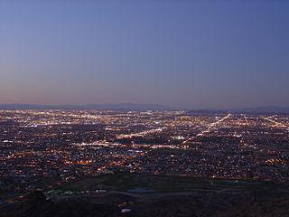 South Phoenix human settlement in Phoenix, Arizona, United States of America