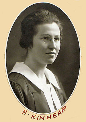 Helen Kinnear - Graduation photo from the Law Society of Upper Canada in 1920