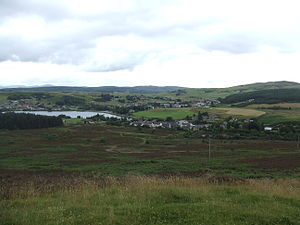 Lairg - The village of Lairg