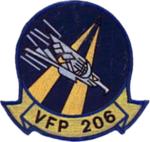 Photographic Reconnaissance Squadron 206 (USN) patch.PNG