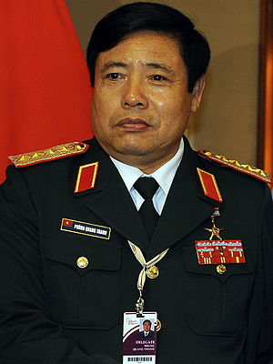 11th Politburo of the Communist Party of Vietnam - Image: Phung Quang Thanh 2010
