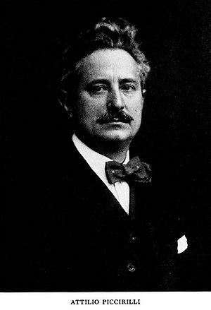 Attilio Piccirilli - Attilio Piccirilli, circa 1916