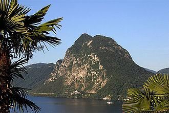 Monte San Salvatore - Image: Picswiss TI 16 02