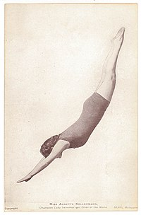 Pictorial post card, Miss Annette Kellermann, Champion Lady Swimmer and Diver of the World (6940034073).jpg