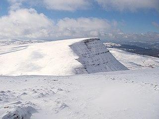 Picws Du mountain in United Kingdom