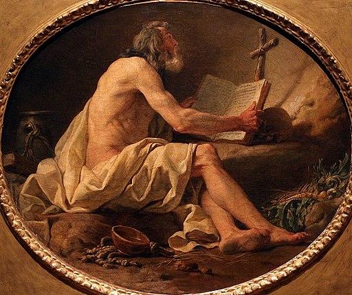 Pierre hubert subleyras (attr.), san girolamo nel deserto, 1725-40 ca b
