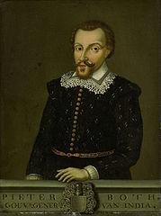 Pieter Both (1550-1615). Gouverneur-generaal (1610-14).