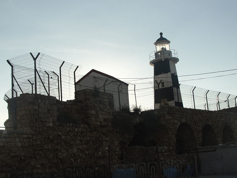 בעיר העתיקה של עכו