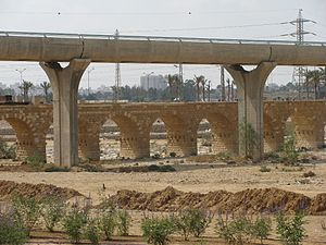 Turkish railway bridge on the Nahal Be\'er She...