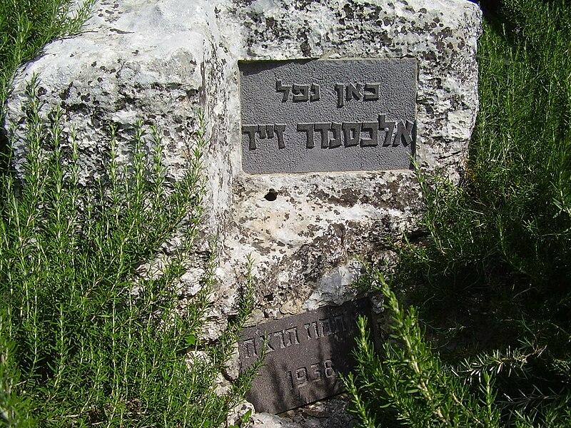 מקום נפילתו של אלכסנדר זייד