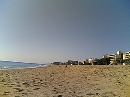 Pineda de Mar beach (02-2008).jpg