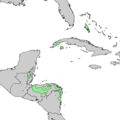 Pinus caribaea range map.png