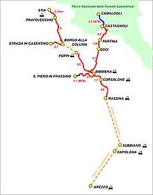 Cartina Piste Ciclabili Olanda.Ciclovia Dell Arno Wikipedia
