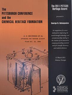 Pittcon Heritage Award